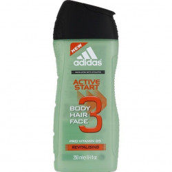 ADIDAS - Gel Douche 3 en 1 Corps/Cheveux/Visage - Active Start