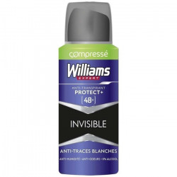 WILLIAMS - Déodorant 48h Compressé - Invisible