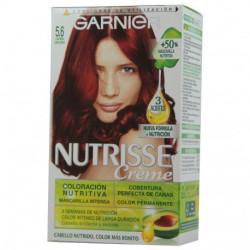GARNIER - Coloration Crème Nutrisse - 5.6 Acajou Foncé