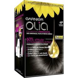 GARNIER - Coloration OLIA - 4P Brun Foncé Platine
