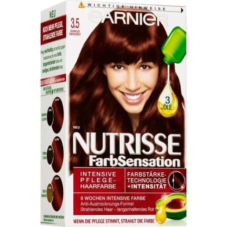 GARNIER - Coloration Crème Nutrisse - 3.5 Cerise Noir