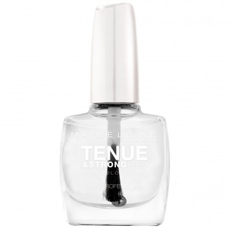 Maybelline New York - Vernis TENUE & STRONG PRO - 25 Base Transparente