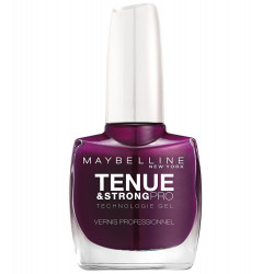 Maybelline New York - Vernis TENUE & STRONG PRO - 270 Ever Burgundy