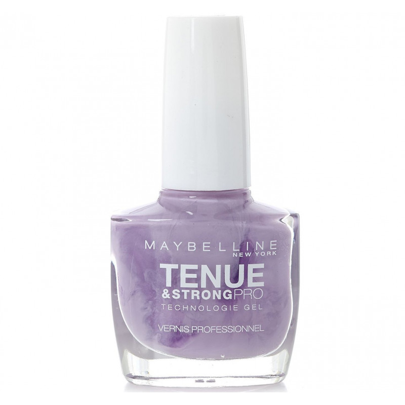 GEMEY MAYBELLINE - Vernis TENUE & STRONG PRO - 210 Eternal Lilac