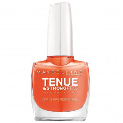 GEMEY MAYBELLINE - Vernis TENUE & STRONG PRO - 460 Orange Couture