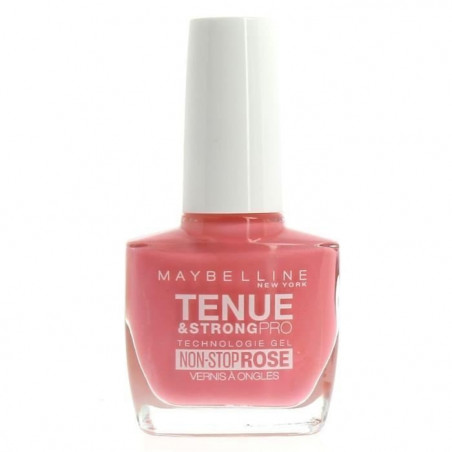 GEMEY MAYBELLINE - Vernis TENUE & STRONG PRO - 140 Rose Rapture