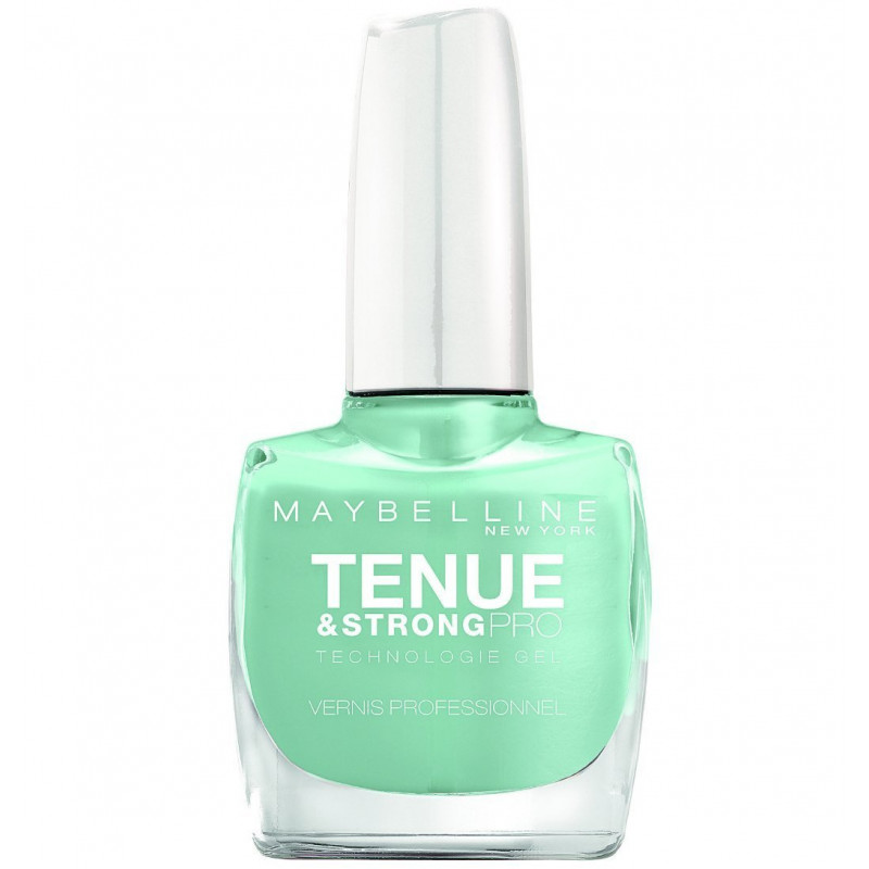 GEMEY MAYBELLINE - Vernis TENUE & STRONG PRO - 23 Mint Jade