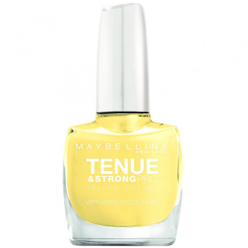 GEMEY MAYBELLINE - Vernis TENUE & STRONG PRO - 22 Lookout Lemon