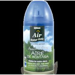 ROMAR - Recharge Désodorisante Automatique - Air de la Montagne