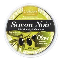 COKOON - Savon Noir Naturel à l'huile d'Olive - 250g
