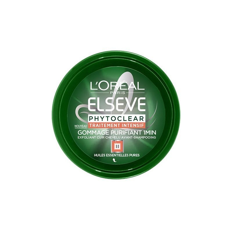 L'ORÉAL PARIS - Gommage Purifiant Avant-Shampoing ELSEVE PHYTOCLEAR