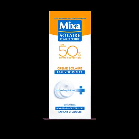 MIXA - Crème Solaire Tolérance Optimale - Visage & Corps/ Enfants & Adultes - Waterproof SPF50