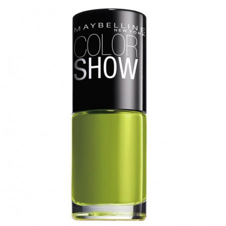 GEMEY MAYBELLINE - Vernis COLORSHOW - 754 Pow Green