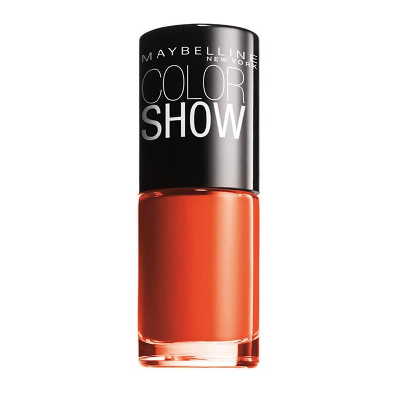 GEMEY MAYBELLINE - Vernis COLORSHOW - 341 Orange Attack