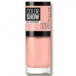 GEMEY MAYBELLINE - Vernis COLORSHOW - 329 Canal Street Coral