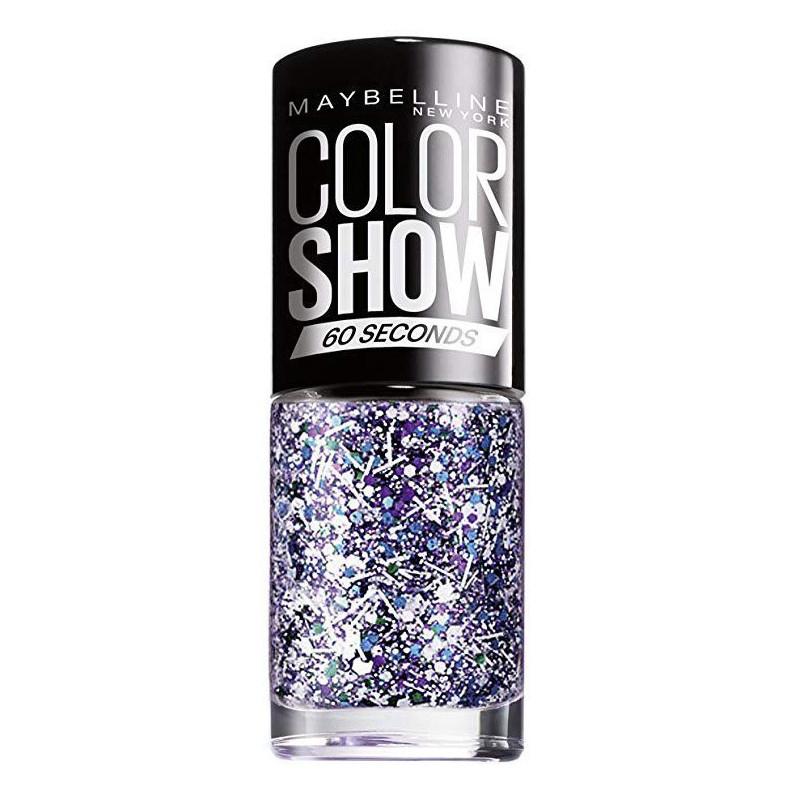 GEMEY MAYBELLINE - Vernis COLORSHOW - 02 White Splatter