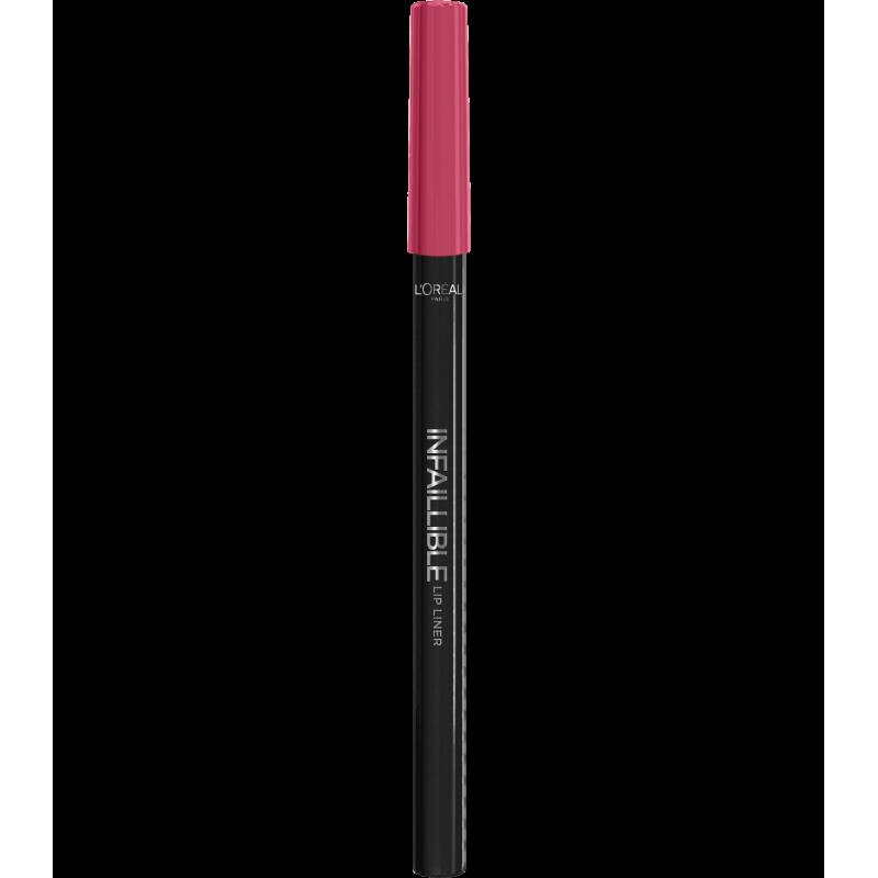 L'ORÉAL - Crayon à lèvres INFAILLIBLE LIP LINER - 102 Darling Pink