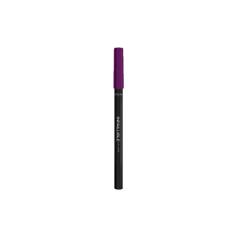 L'ORÉAL - Crayon à lèvres INFAILLIBLE LIP LINER - 207 Wuthering Purple