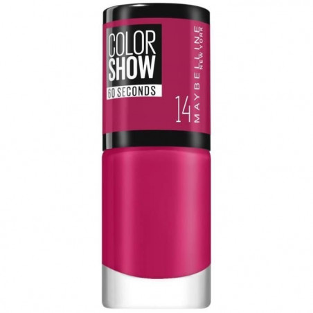 GEMEY MAYBELLINE - Vernis COLORSHOW - 14 Show Time Pink