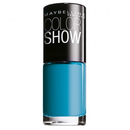 GEMEY MAYBELLINE - Vernis COLORSHOW - 654 Superpower Blue