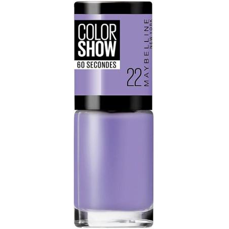 GEMEY MAYBELLINE - Vernis COLORSHOW - 22 Lavender Love