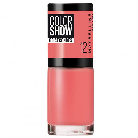 GEMEY MAYBELLINE - Vernis COLORSHOW - 12 Sunset Cosmo