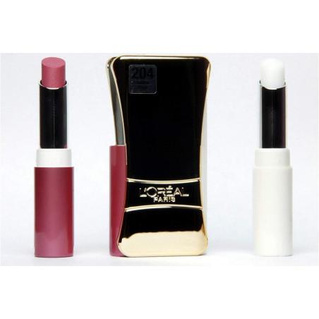 L'ORÉAL - Rouge à Lèvres INFAILLIBLE LIP DUO - 204 Golden Plum