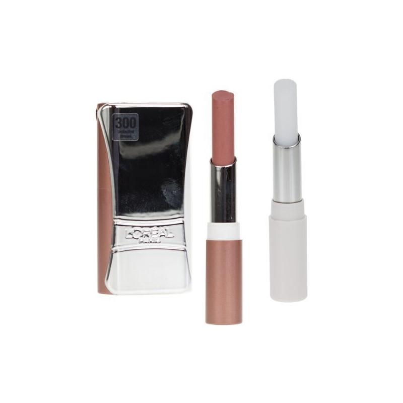 L'ORÉAL - Rouge à Lèvres INFAILLIBLE LIP DUO - 300 Unlimited Brown