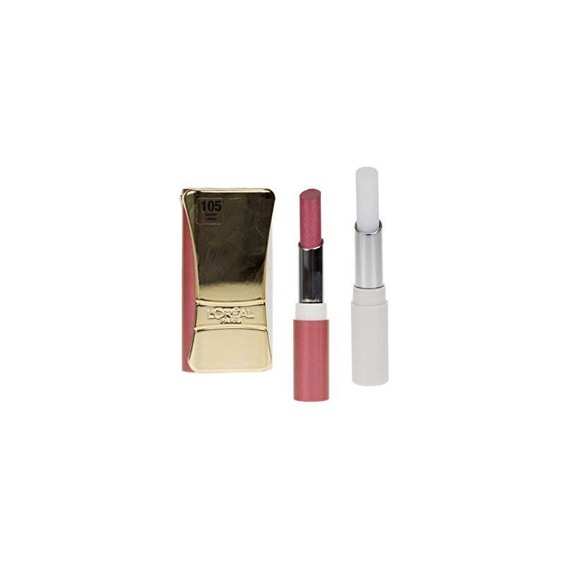 L'ORÉAL - Rouge à Lèvres INFAILLIBLE LIP DUO - 105 Golden Taffeta