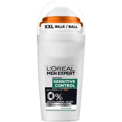 L'Oréal Paris - Déodorant à Bille MEN EXPERT - SENSITIVE CONTROL