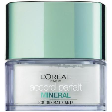 L'Oréal Paris - Poudre Matifiante ACCORD PARFAIT MINERAL