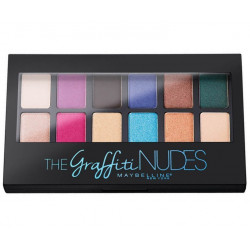 GEMEY MAYBELLINE - Palette THE GRAFFITI NUDES