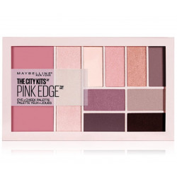Maybelline New York - Palette Blush + Fard à Paupières THE CITY KITS PINK EDGE