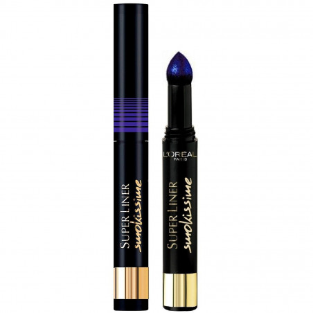 L'ORÉAL - Super Liner SMOKISSIME - 105 Blue Smoke