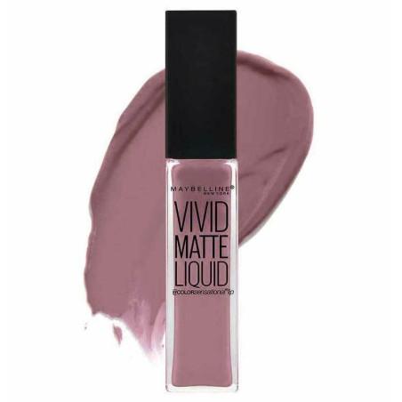 GEMEY MAYBELLINE - Rouge à lèvres VIVID MATTE LIQUID - 02 Grey Envy