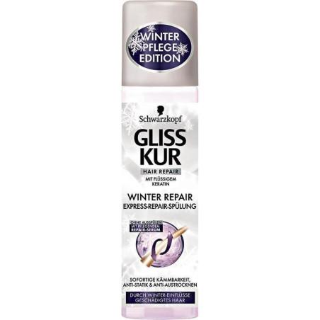 SCHWARZKOPF - Soin Spray Démêlant GLISS KUR - Winter Repair