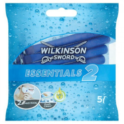 WILKINSON - 5 Rasoirs pour Homme ESSENTIALS 2