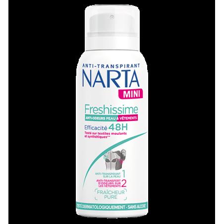 NARTA - Mini Anti-Transpirant FRESHISSIME 48h