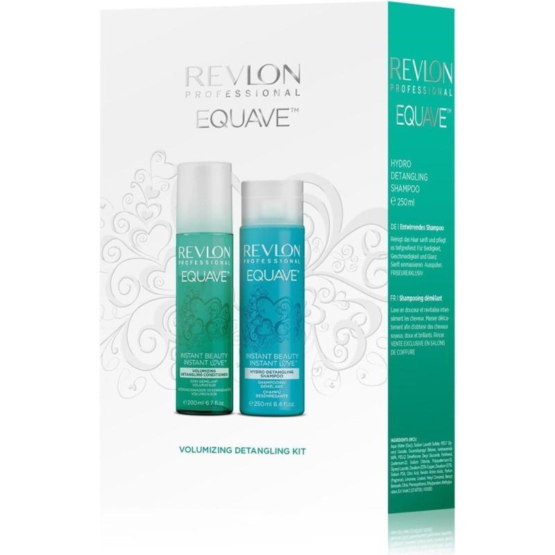 REVLON - Coffret EQUAVE - Shampoing + Soin Démêlant