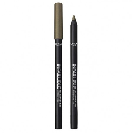 L'ORÉAL - Gel crayon 24H Waterproof INFAILLIBLE - 008 Rest In Kaki