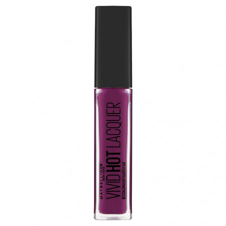 GEMEY MAYBELLINE - Rouge à lèvres VIVID HOT LACQUER - 76 Obsessed
