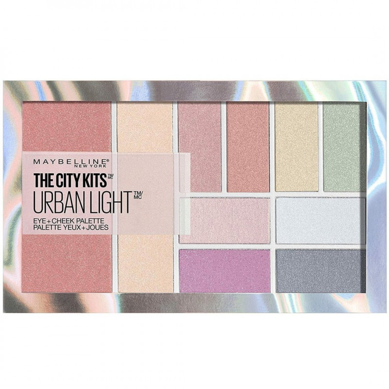 GEMEY MAYBELLINE - Palette Blush + Fard à Paupières THE CITY KITS URBAN LIGHT