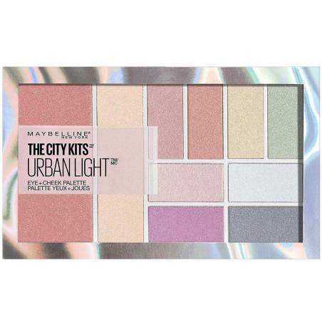 Maybelline New York - Palette Blush + Fard à Paupières THE CITY KITS URBAN LIGHT