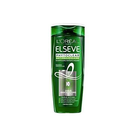 L'ORÉAL - Shampoing Rafraîchissant Antipelliculaire ELSEVE PHYTOCLEAR - Cheveux Gras