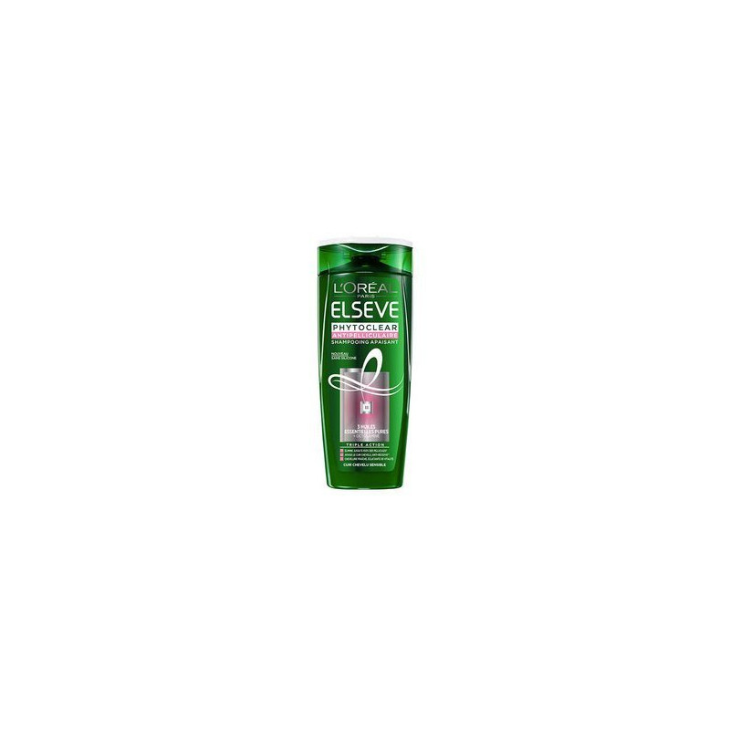 Cheveux Shampoing Apaisant Elseve Chic Antipelliculaire Sensibles Cosme Phytoclear L'oréal TFc3lKJ1