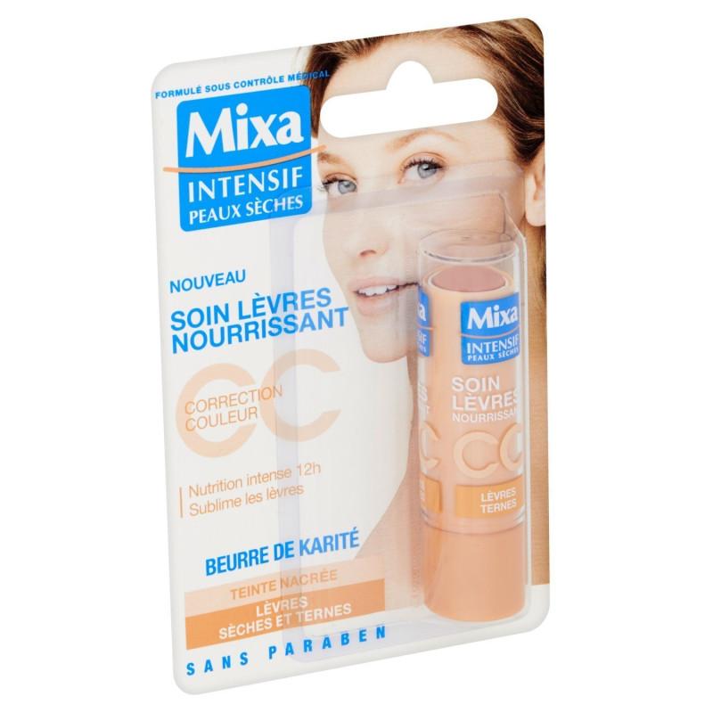 MIXA - Soin Lèvres Nourrissant CC - Teinte Nacrée