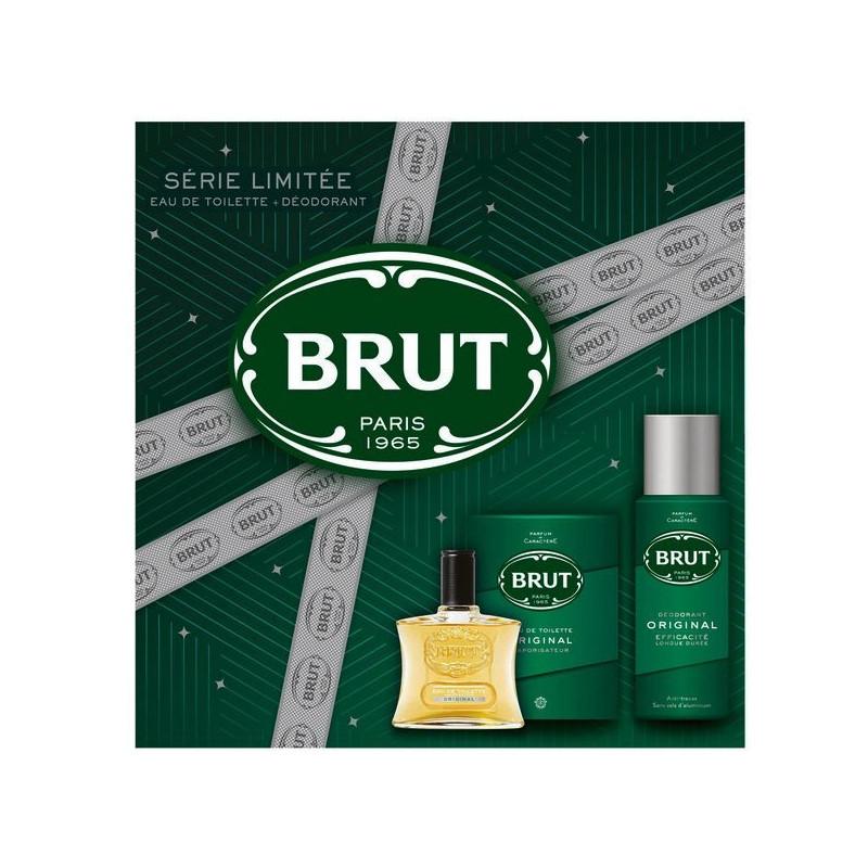 BRUT - Coffret Eau de Toilette + Déodorant - Original