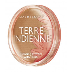 Maybelline New York - Poudre de soleil / Blush DREAM SUN - Terre Indienne - 09 Golden tropics
