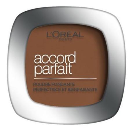 L'Oréal Paris - Poudre ACCORD PARFAIT- 10D Doré Foncé