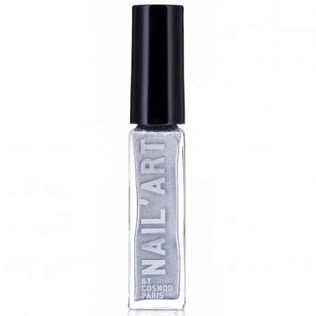 COSMOD - Vernis Nail Art - 02 Argent
